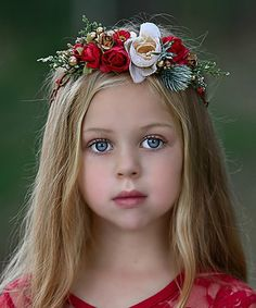 Princess-worthy style is in full bloom with this halo that features faux flowers. Stretchy fabric gives it a secure, comfortable fit. Baby Hair Bows, Faux Flowers, Toddler Fashion, Kids Christmas, Halo, Cute Babies, Special Occasion, Bloom, Pink Bows