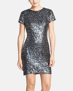 Wardrobe staple   Sparkly sequin shift dress