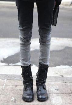 Ombré jeans. Beautiful idea