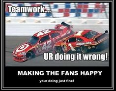 Well, not really. I like Jamie...that used to be Montoya, so I am okay with that!