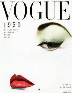 January 1950, Vogue, art direction by Alexander Liberman. Photography Erwin Blumenfeld