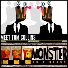 Episode #3 was our Tom Collins episode, the cocktail with the strangest origin story yet. http://blackliver.ning.com/profiles/blogs/meet-tom-collins