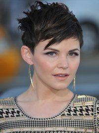 Pictures : Ginnifer Goodwin Hairstyles - Ginnifer Goodwin Short Haircut Back View