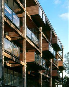 Alison Brooks Architects, Accordia, Cambridge, Balconies