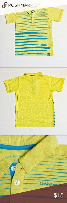 Calvin Klein kids age six Calvin Klein kids age 6. Gently loved . Very comfortable . Looks good with casual pants or jeans Calvin Klein Shirts & Tops