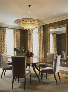 Richly-Coloured Dining Room