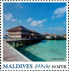 MLD16220a Maldives, Stamps, Mansions, House Styles, Outdoor Decor, The Maldives, Seals, Villas, Postage Stamps