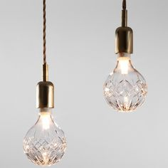 Crystal bulbs from Lee Broom