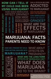 Marijuana Get Straight On The Facts Pamphlet  Marijuana