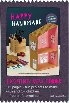 Happy Handmade Ebook Review. Fun Projects to Make with and For Children!