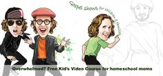 Over Christmas, I told you about some great free videos for kids that share biblical principles for our Christian worldview. My daughter Laynie loved thembecause they were so mesmerizing! I'm not kidding, the guy is an intelligent and inspiring storyteller and artist, and Laynie is completely enthralled. For a kid with dyslexia and aninterest in …