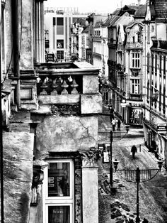 Bytom, Poland - where I was born Black N White Images, Black And White, Poland Travel, First Home, Cityscapes, Places Ive Been, Fairy Tales, To Go, Posters
