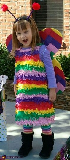 DIY Butterfly Pinata Costume