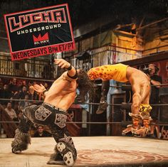 Johnny Mundo vs Prince Puma Lucha Underground, Ufc, Cool Pictures, Professional Wrestling, Cabo, Sports, Prince, Action, Lucha Libre