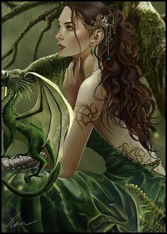 Love fantasy work with dragons :) Fantasy Dragon, Dragon Art, Fantasy Women, Dark Fantasy, Magical Creatures, Fantasy Creatures, Elfen Fantasy, Photo Portrait, Fantasy Pictures