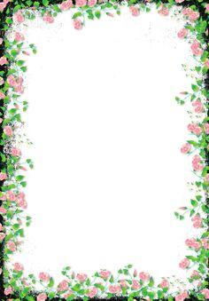 black flower png | Black Transparent Flower Frame