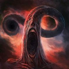 Lovecraft, this is your stop for all of his outstanding works and weird fiction in general! Monster Concept Art, Fantasy Monster, Monster Art, Arte Horror, Horror Art, Dark Fantasy Art, Fantasy Artwork, Demon Artwork, Necronomicon Lovecraft