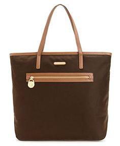 """Love this tote bag in """"coffee""""!! Totally need this for carrying books and everything else -- perfect!!"""