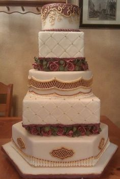 "State fair wedding cake.   We can help achieve this look at Dallas Foam with cake dummies, cupcake stands and cakeboards. Just use ""2015pinterest"" as the item code and receive 10% off your first order @ www.dallas-foam.com. Like us on Facebook for more discount offers!"