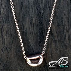 Beans necklace  9k rose gold filled ビーンズネックレス