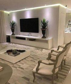 40 tv wall living room ideas decor on a budget 2 Living Room Tv Unit, Living Room Decor Cozy, Tv Wall Design, Design Case, House Design, Home Interior Design, Living Room Designs, Home Decor, Style Clothes