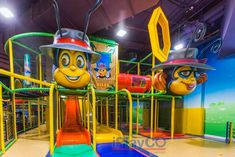 Latest installation at a family entertainment center (FEC).  We can help you with your FEC development. Let us create a great design for your business.  We design, manufacture and install worldwide.   Indoor playground equipment; commercial playgrounds; custom theming; business plans; #weBUILDfun