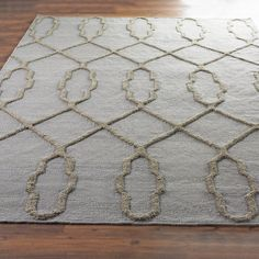 Check out French Quarter Trellis Neutral Flatweave Rug from Shades of Light