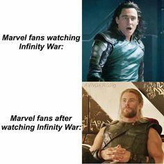 Yep. Infinity war gave me depression