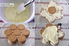 Tarta Galleta Maria Pasos Chilean Recipes, Desserts To Make, Cake Cookies, No Bake Cake, Creme, Bakery, Sweet Treats, Deserts, Food And Drink