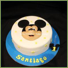 Bolo Mickey mouse