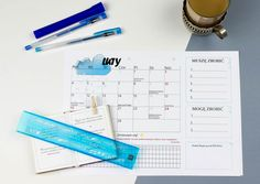 Luty – planujemy i działamy! Office Supplies, How To Plan, Stationery