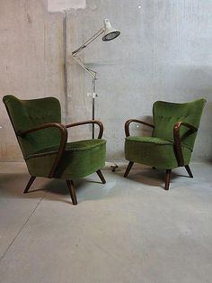 Vintage mid century design arm chairs clubfauteuil cocktail chair lounge chairs fifties retro jaren 50 #retrohomedecoratingvintage