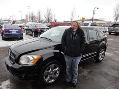 """this is the third vehicle that I have bought here and I am very satisfied with the service"" -jamie Thanks Jamie, we really appreciate the opportunity to earn your business and hope you enjoy your new Caliber!"