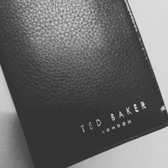 5da2c1ab4b74 My new Ted Baker London Zack's bifold wallet #ted_baker_london 🖤 Ted Baker