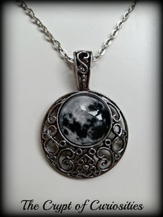 Night Enchantress  Antique silver filigree by TheCryptOfCuriositie