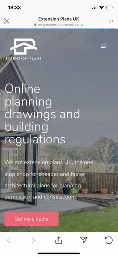 Extension Plans, Plan Drawing, Planning Permission, Kitchens, Construction, How To Plan, Quotes, Building, Quotations