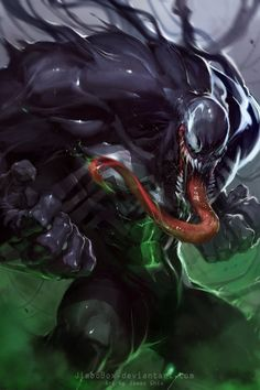 #Venom #Fan #Art. (Venom) By: JimboBox. (THE * 5 * STÅR * ÅWARD * OF: * AW YEAH, IT'S MAJOR ÅWESOMENESS!!!™)[THANK U 4 PINNING!!<·><]<©>ÅÅÅ+