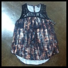 NWT Sleeveless Hi-Low Top with Cutouts Super cute from Mossimo! Brand new and size small! Mossimo Supply Co Tops