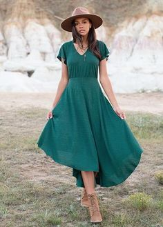 The perfect combination of comfort and style lies in this asymmetrical high-low dress. Leg slit... Family Photo Outfits, Family Photos, Flutter Sleeve, Hemline, Dress Outfits, High Low, Short Sleeve Dresses, Legs, My Style