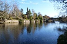 The river ericht running through Blairgowrie and Rattray #blairgowrie #perthshire