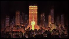 Akira (1988) was originally shot on Vistavision.  The remastered Bluray release preserves all the resolution of the original.