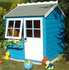 Shire Bunny Playhouse Playhouses Play House Children Garden Cottage UK