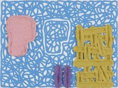 Jonathan Lasker painting