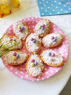 Easter food table cookies