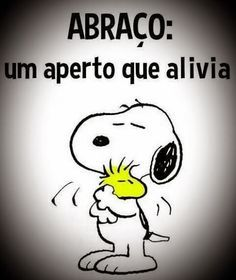Abraço Snoopy Love, Charlie Brown And Snoopy, Snoopy And Woodstock, Miss You Daddy, Free Hugs, Reading Quotes, Love You, My Love, Holidays And Events