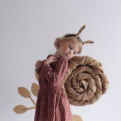 Little snail girl