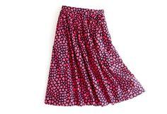 the jardin skirt in heart throb