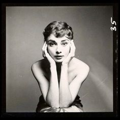Audrey Hepburn photographed by Richard Avedon, New York, December 18, 1953