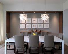 decoracao sala de jantar cinza madeira