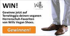 Gewinne jetzt vegane Herrenschuhe oder Herrenstiefel von Wills Vegan Shoes bei TerraVeggia - einfach deinen Favoriten aussuchen und mitmachen! #vegan